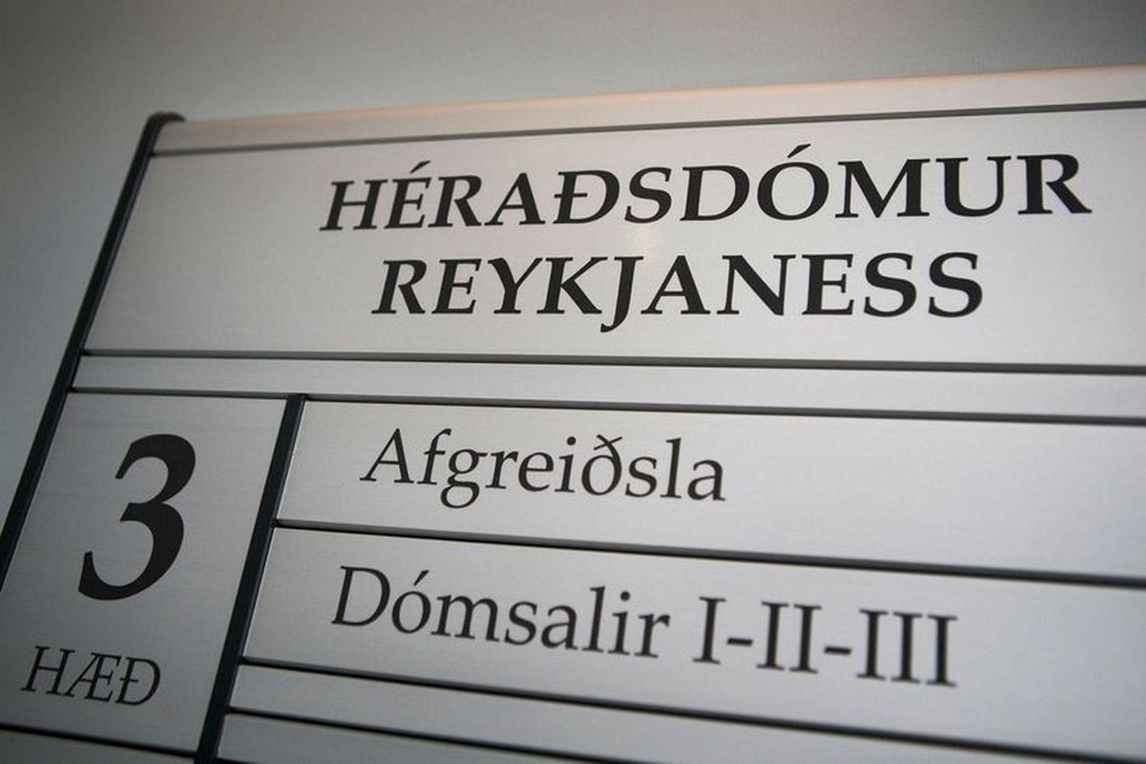 Málið var þingfest í síðasta mánuði.