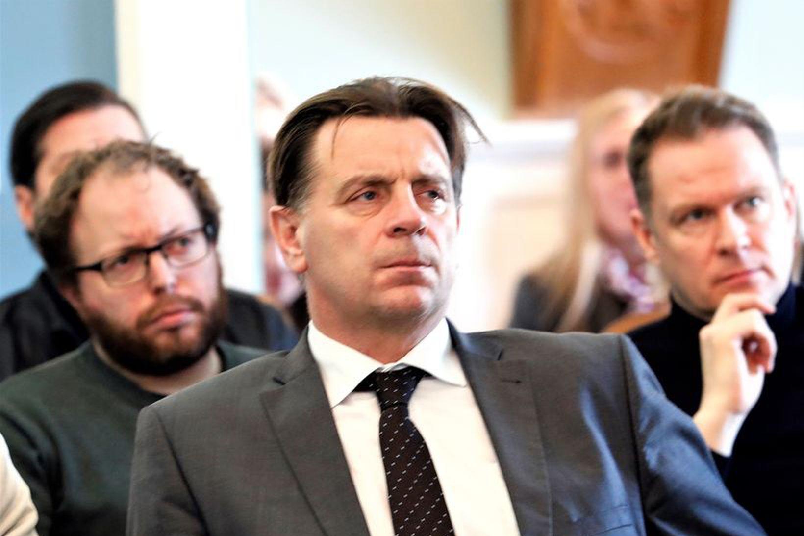 Karl Gauti Hjaltason, fyrrum lögreglustjóri.