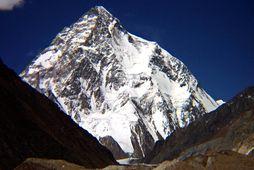 K2 er næst hæsta fjall heims.