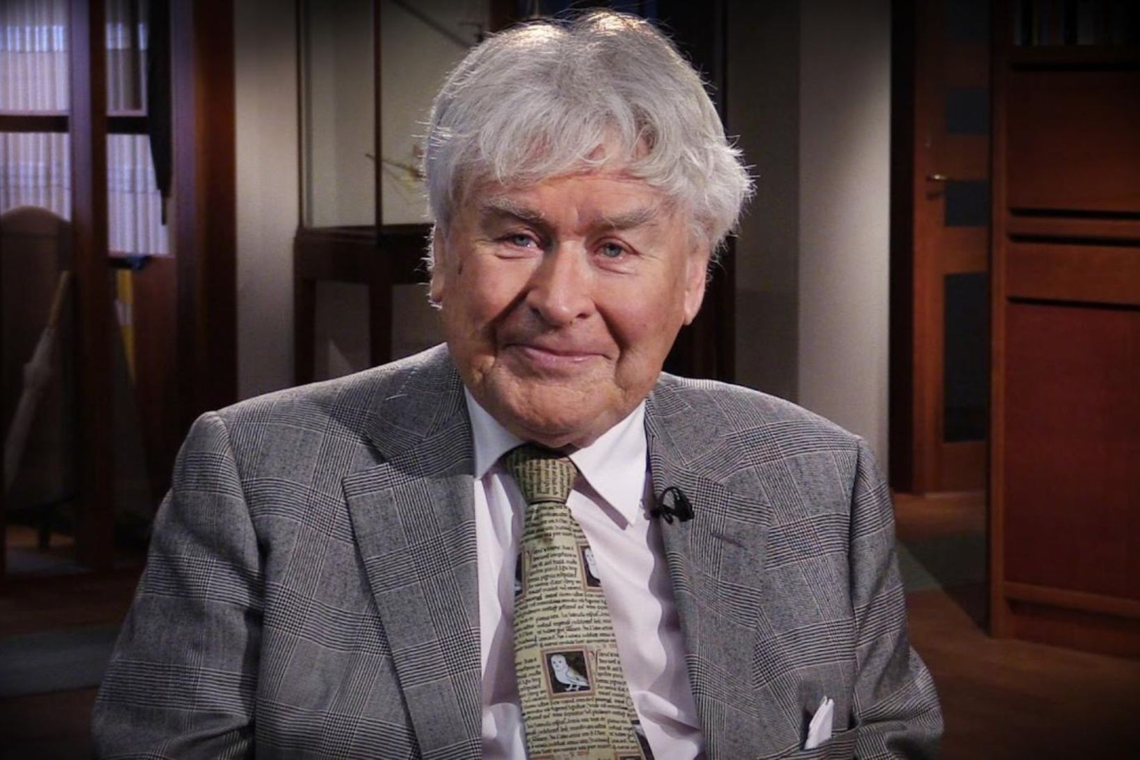 Lars Lönnroth, prófessor emeritus við Gautaborgarháskóla.