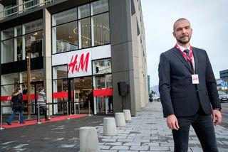 Dirk Roennefahrt, framkvæmdastjóri H&M á Íslandi og Noregi.