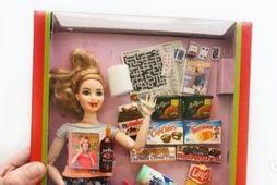 Barbie-dúkka sem lýsir huga og ástandi margra kvenna síðustu mánuði.