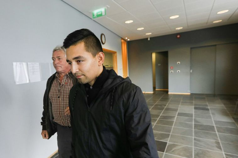 Ni­kolaj Ol­sen at Reykjanes District Court last week.