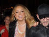 Mariah Carey skellti sér út að borða með ónefndum vini sínum.