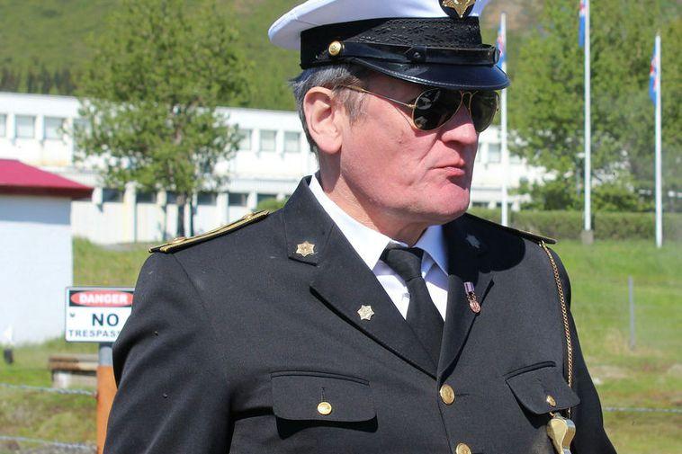 Svanur Kristinsson is a policeman in Selfoss.