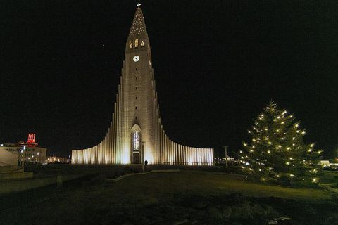 Join midnight mass at Hallgrímskirkja or at other churches around the city.