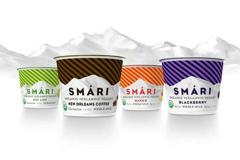 Smári Organics markets their skyr as Icelandic yoghurt, not skyr, although the product is actually skyr.