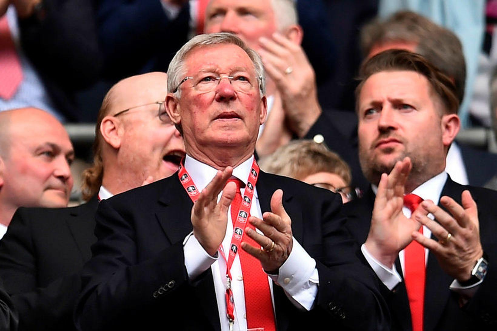 Sir Alex Ferguson er hrifinn af því starfi sem Steven …
