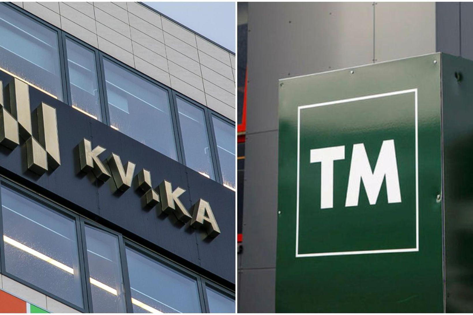 Kvika banki og TM.