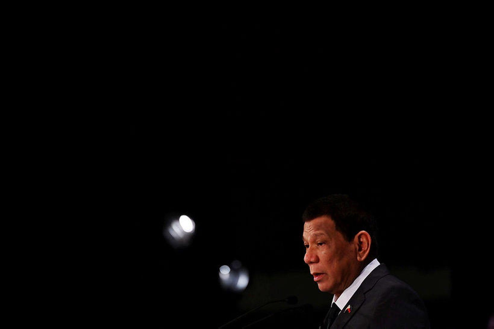 Rodrigo Duterte, forseti Filippseyja, sagði í dag að íslensk stjórnvöld …