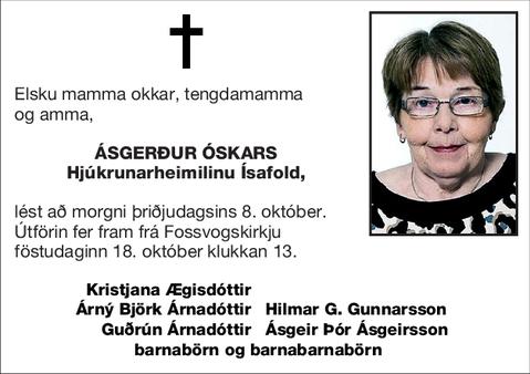 Ásgerður Óskars