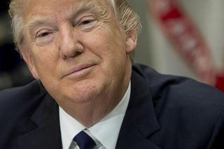 Donald Trump, Bandaríkjaforseti.