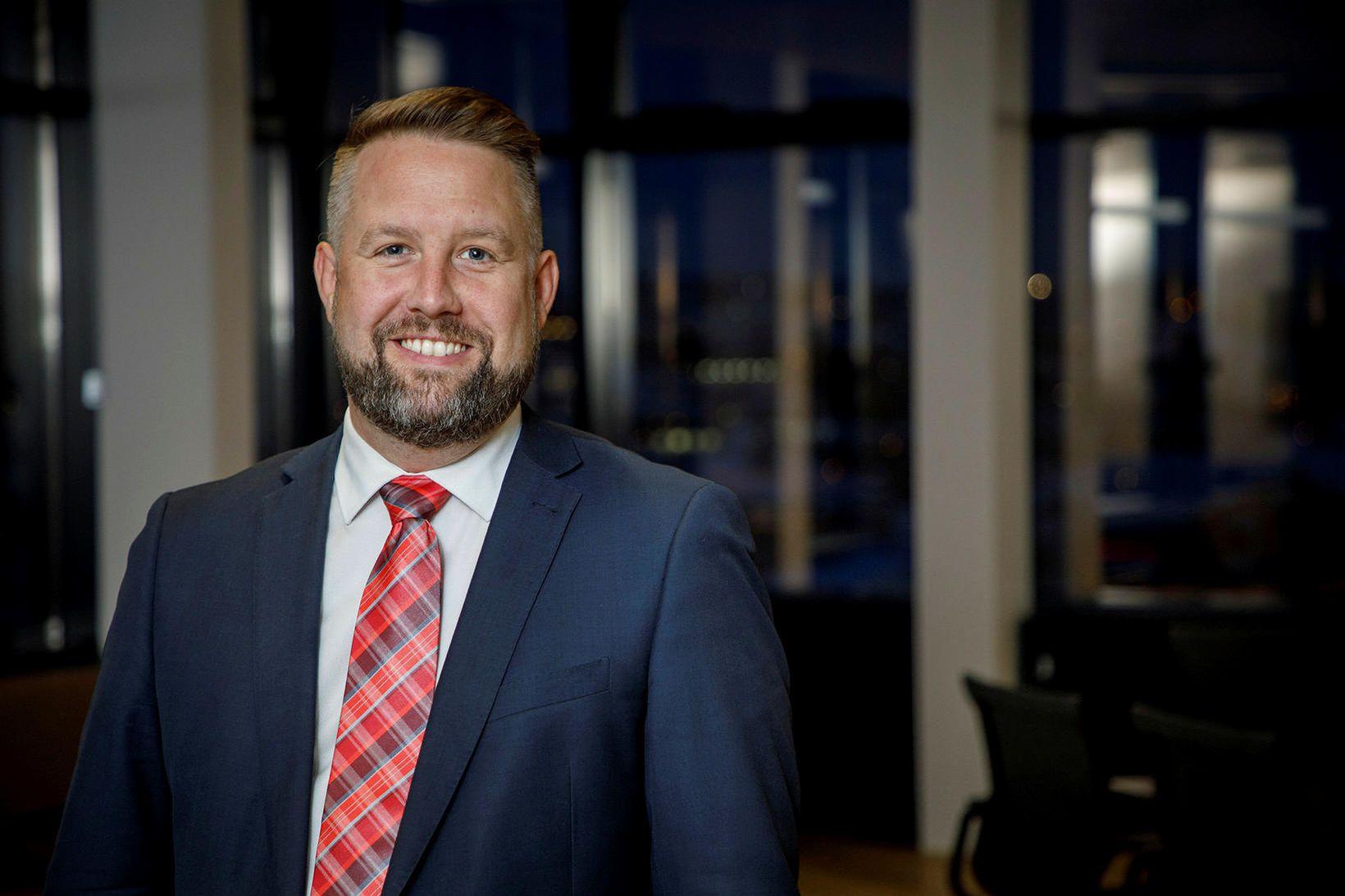 Kjartan Smári Höskuldsson, framkvæmdastjóri Íslandssjóða.