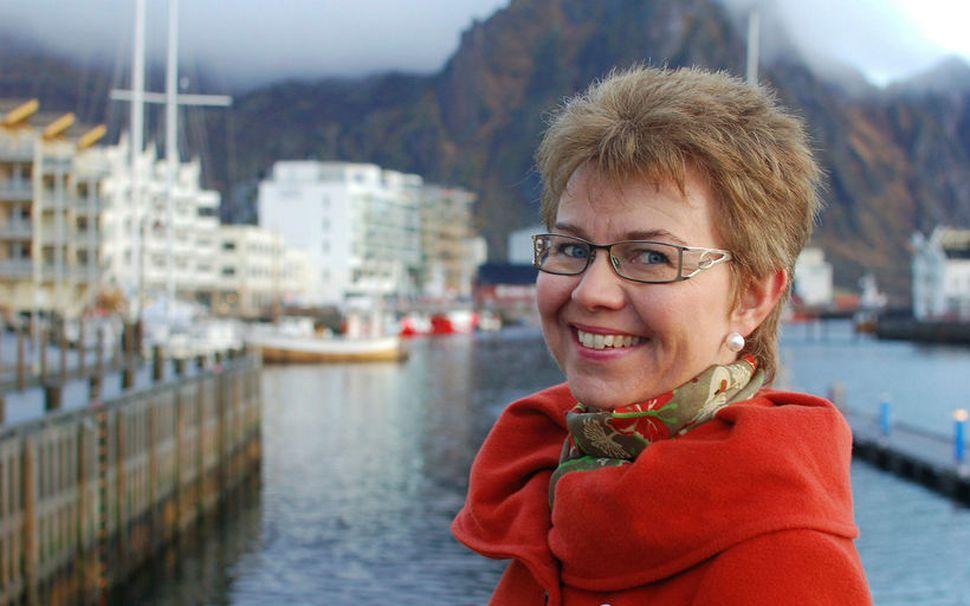 Kathrine Kleveland, formaður samtakanna Nei til EU.