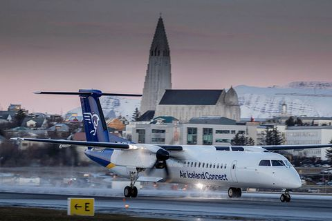 All Air Iceland Connect flights are down.