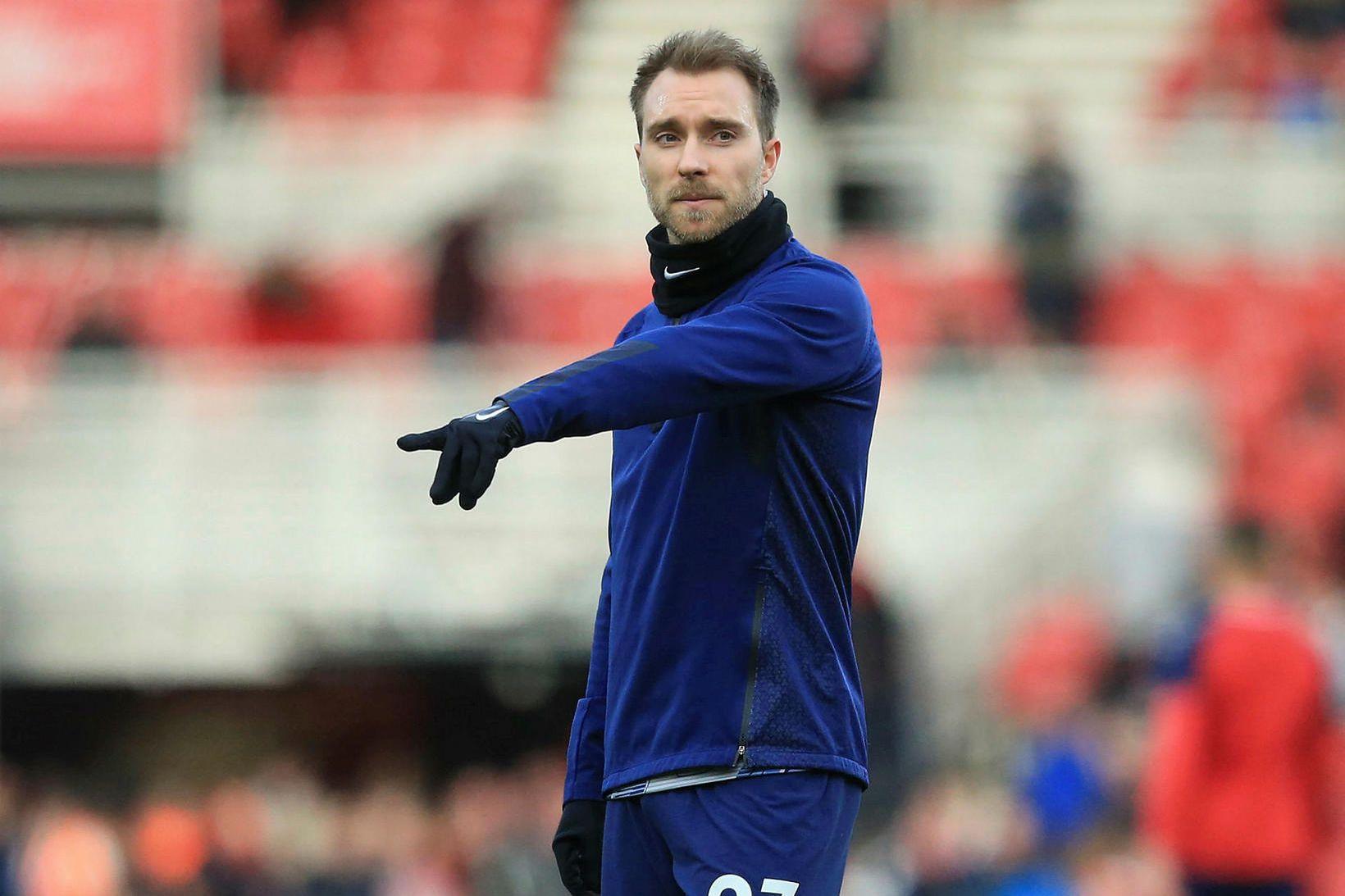 Christian Eriksen er orðinn leikmaður Inter Mílanó.