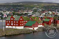 Tinganes í Þórshöfn í Færeyjum