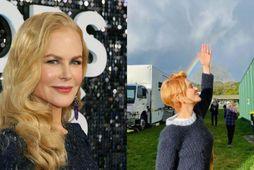 Nicole Kidman er komin með nýja hárgreiðslu.