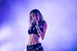 Miley Cyrus.