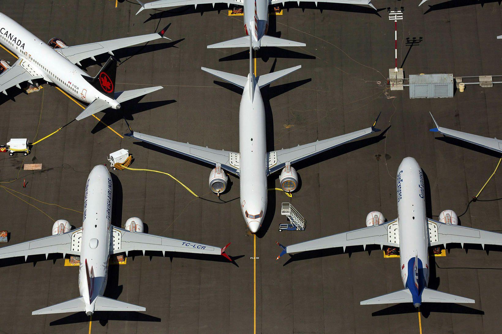 Spurn eftir nýjum Boeing-vélum hefur dregist gríðarlega mikið saman eftir …
