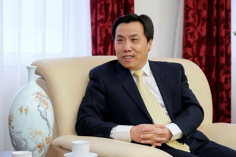 Jin Zhijian, ambassador for China in Iceland.