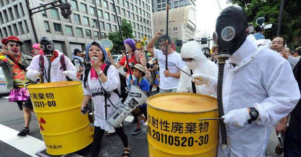 Almenningur í Japan hefur snúist gegn kjarnorku eftir Fukushima-slysið árið 2011. Var það stærsta kjarnorkuslys …