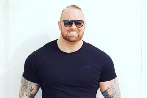 Hafþór Júlíus Björnsson eats four kilos of food per day.