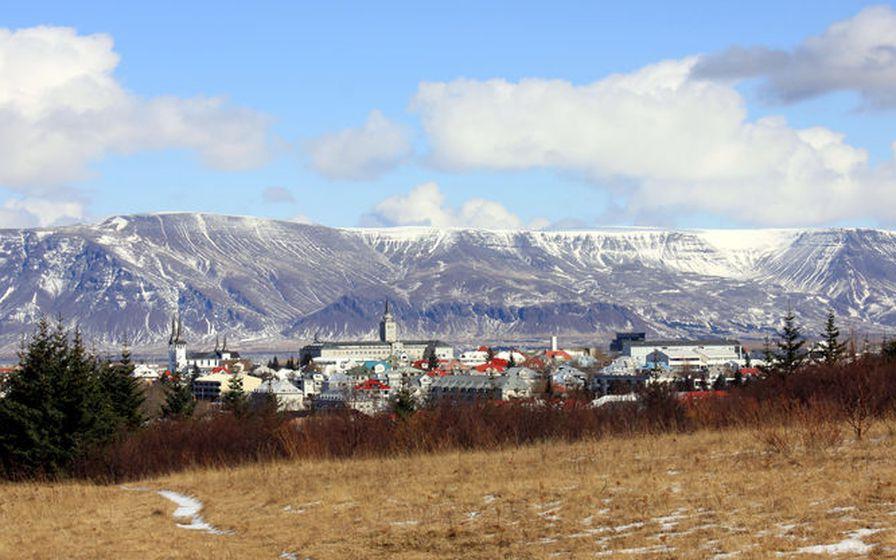 Esjan er af mörgum sögð vera fegursta fjall Íslands.