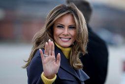Melania Trump prýddi forsíðu Vogue árið 2005.