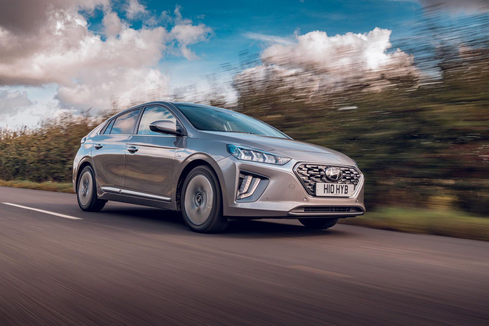 Hyundai Ionic veitir eigendum mesta gleði.
