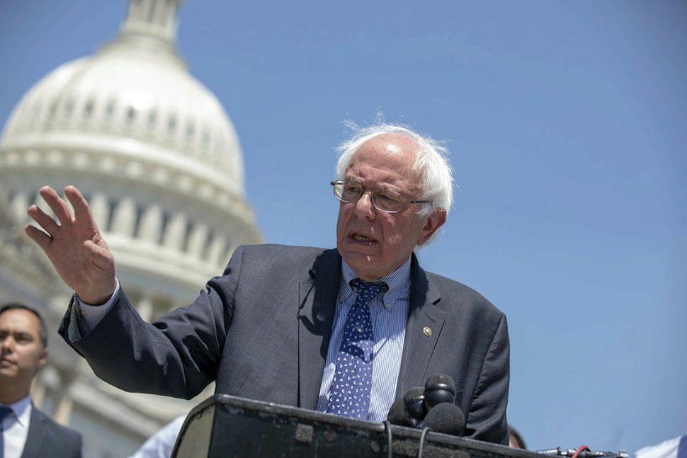 Bernie Sanders er tilbúinn í slaginn.