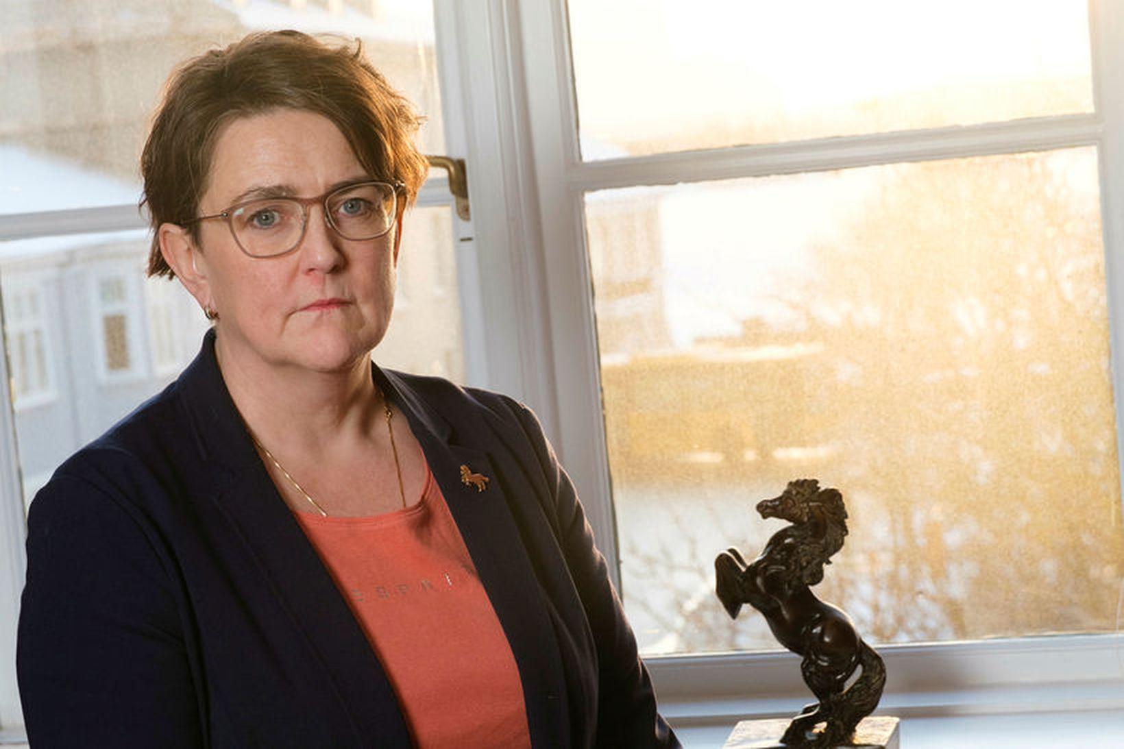 Anna Kolbrún Árnadóttir, þingmaður Miðflokksins.