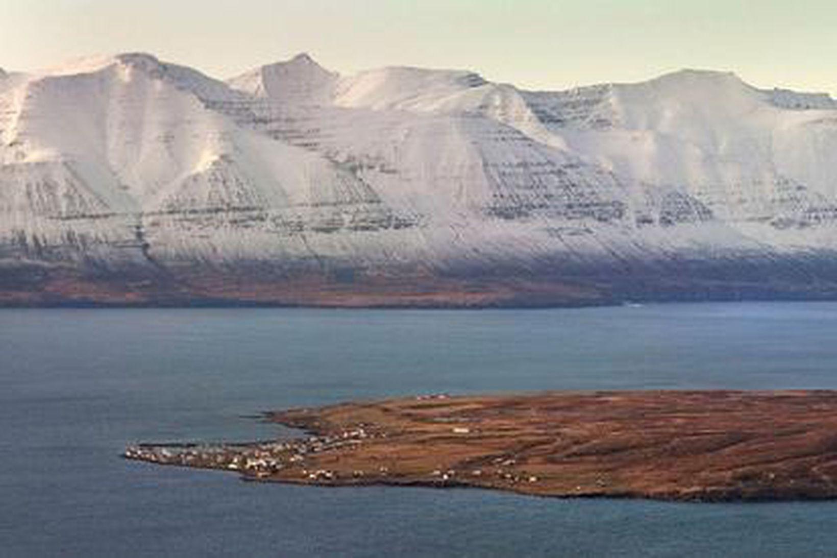 Hrísey á Eyjafirði.