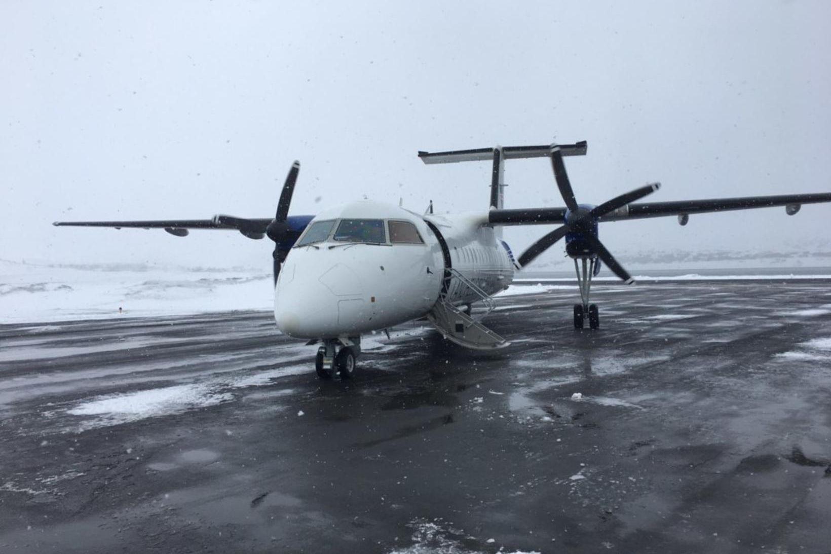 TF-SIF, eftirlitsflugvél Landhelgisgæslunnar.
