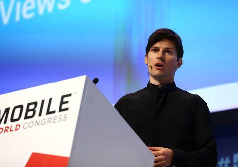 Frumkvöðullinn Pavel Durov stofnaði skilaboða samskiptaforritið Telegram. Áður hafði hann stofnað samskiptamiðillinn VK sem er með yfir 500 milljónir notenda í rúmlega 90 löndum.