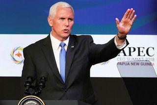 Mike Pence er gestur á APEC ráðstefnunni í Port Moresby.