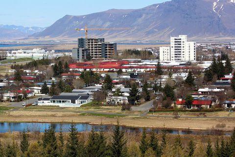 Árbærinn í Reykjavík.