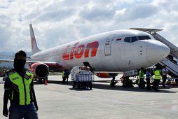 Allir 189 um borð í vél Boeing 737 MAX 8-Lion Air létust þegar vélin hrapaði ...