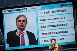 Flótti Ghosn um síðustu áramót vakti mikla athygli. Honum er gefin stórfelld sviksemi að sök.