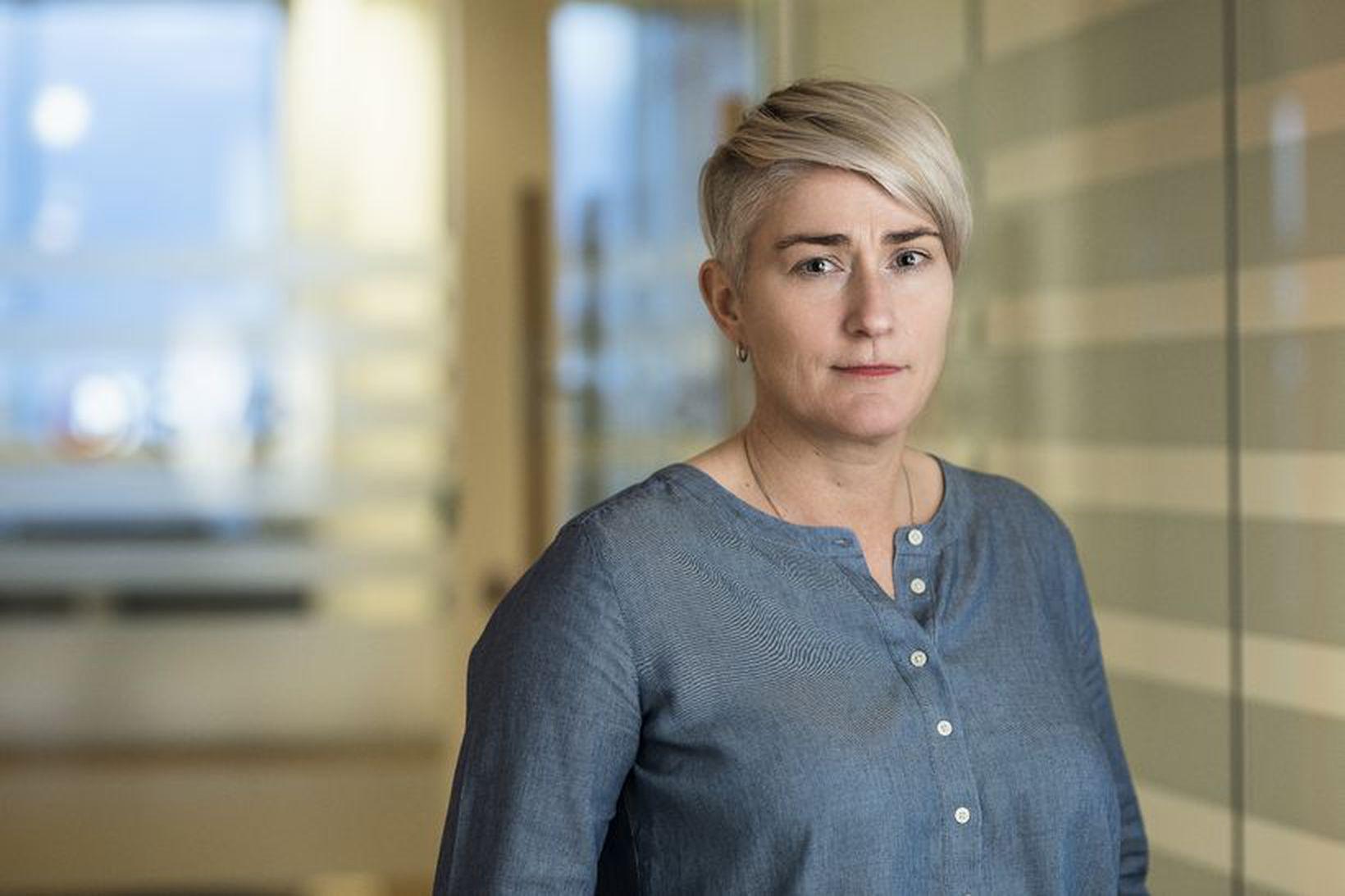 Sara Dögg Svanhildardóttir, bæjarfulltrúi Garðabæjarlistans.