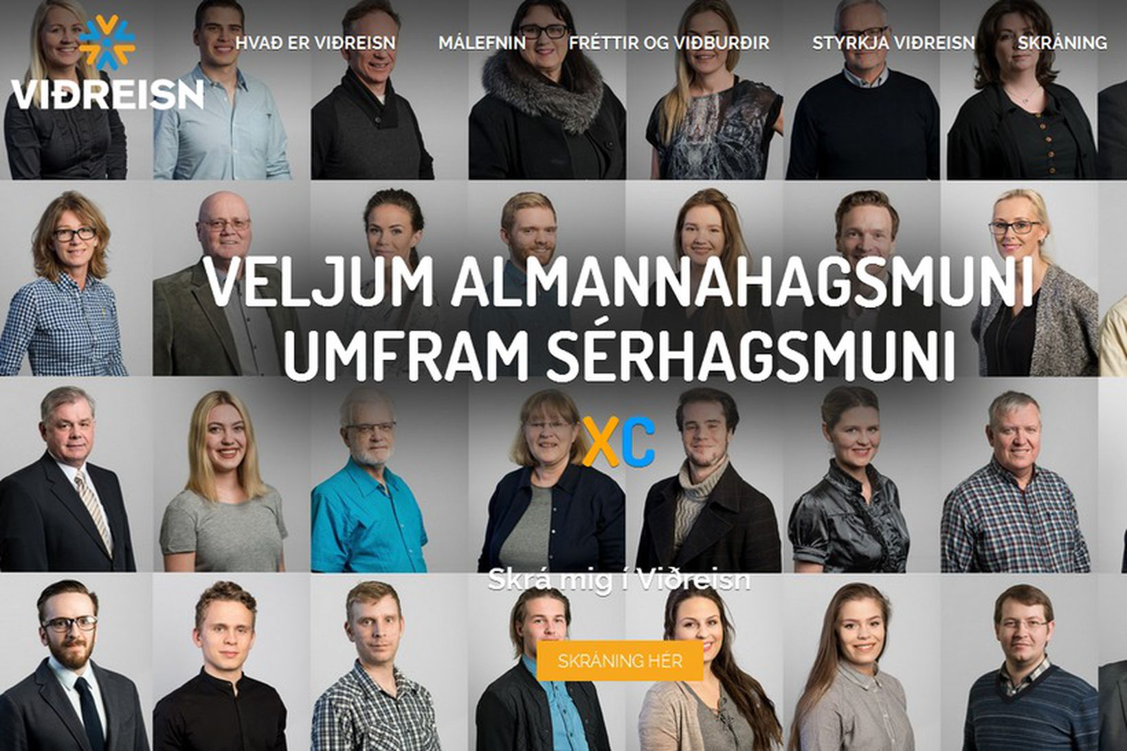 Viðreisn hefur fengið úthlutað listabókstafnum C. Stjórnmálasamtök hafa mjög rúman …