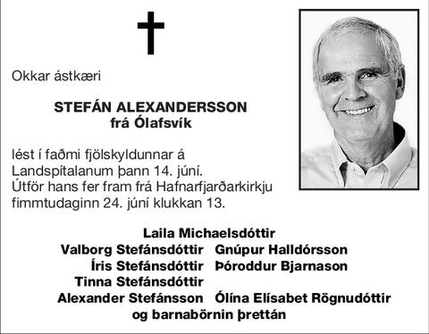 Stefán Alexandersson