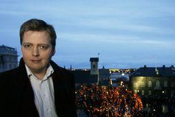 Sigmundur Davíð Gunnlaugsson mun beita sér fyrir því að bókhald Framsóknarflokksins verði opnað.