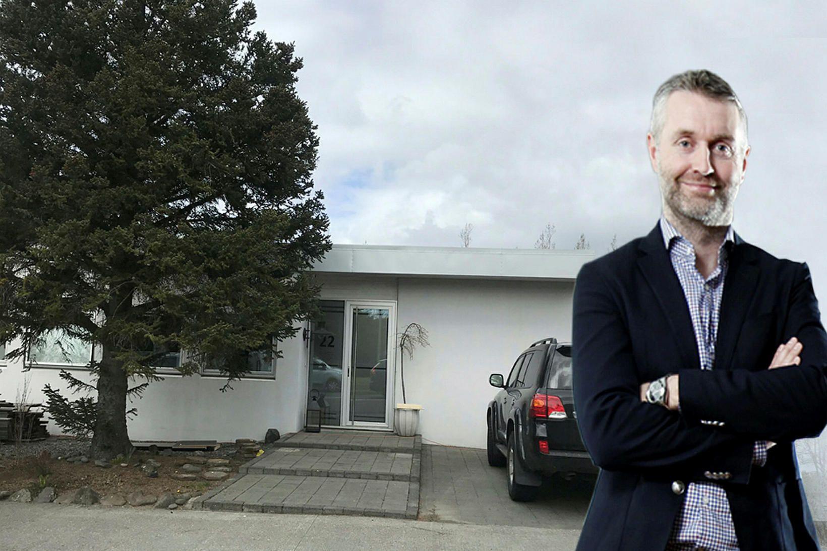 Guðmundur Örn Þórðarson hefur fest kaup á einbýlishúsi við Stekkjarflöt …