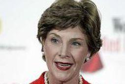 Laura Bush, forsetafrú Bandaríkjanna.