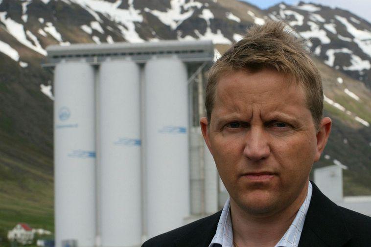 Gunnþór Ingvason, managing director of Síldarvinnslan in Neskaupstaður.