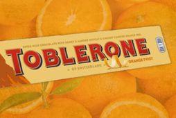 Nýtt Toblerone með appelsínubragði er komið á markað.