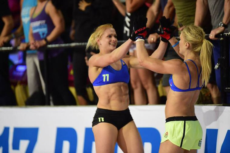 Annie Mist placed third at the CrossFit Games.