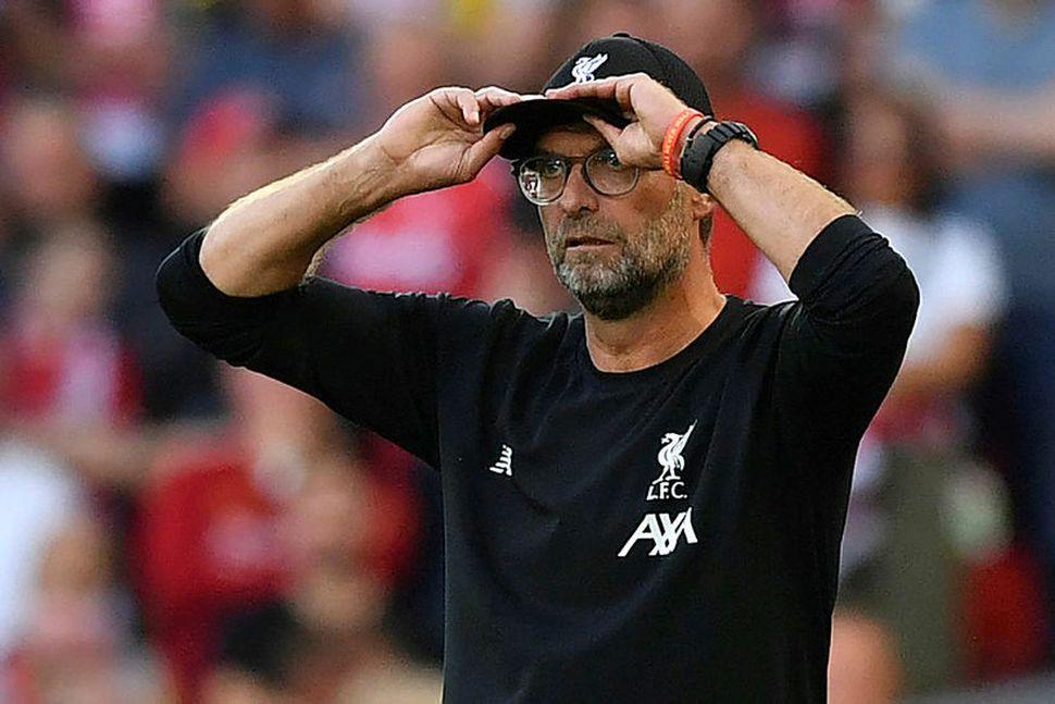 Jürgen Klopp fékk mikið hrós frá miðjumanni Arsenal í vikunni.