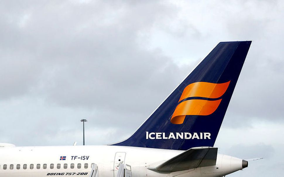 Gengi Icelandair hefur hækkað mikið í gær og dag.